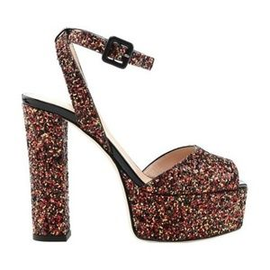 Giuseppe Zanotti Blytter Platform Sandal Glitter